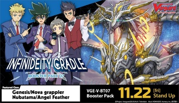 Cardfight!! Vanguard™ V Booster Set 07: Infinideity Cradle Booster Box