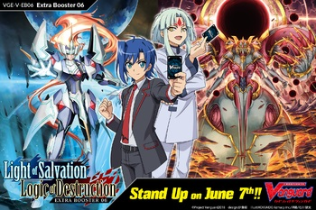 Cardfight!! Vanguard™ Light of Salvation, Logic of Destruction V Extra Booster Box - Pre-Order 7 June 2019