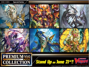 Cardfight!! Vanguard™ V Special Series 01: Premium Collection 2019 Booster Box - Pre-Order 21 June 2019