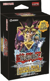 YuGiOhThe Dark Side of Dimensions Movie Pack Gold Edition Booster Pack - First Edition