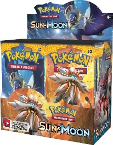Pokémon Sun and Moon Booster Box