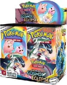 Pokémon Sun and Moon Cosmic Eclipse Booster Box
