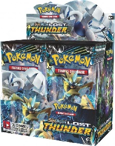 Pokémon Sun and Moon Lost Thunder Booster Box