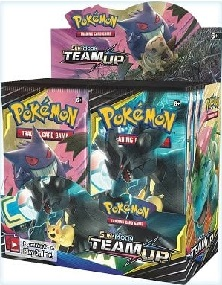 Pokémon Sun and Moon Team Up Booster Box