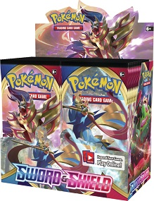 Pokémon Sword and Shield Booster Box
