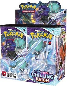 Pokémon Sword and Shield Chilling Reign Booster Box - Pre-Order 18th June