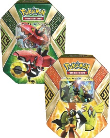 Pokémon 2017 Spring Tins - Legends of Alola Tin - Set of both Tins